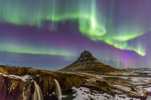Northern Light Aurora borealisの写真素材 [FYI00786662]