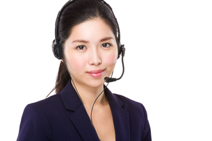 Customer services officerの写真素材 [FYI00786782]