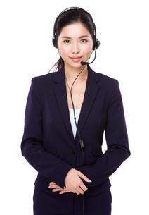 Customer service assistantの写真素材 [FYI00786805]