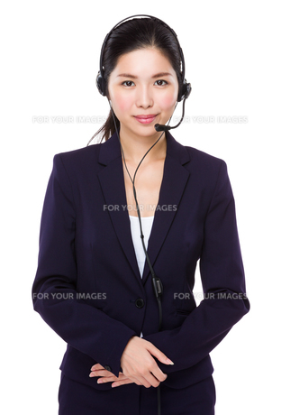 Customer service consultantの写真素材 [FYI00786829]