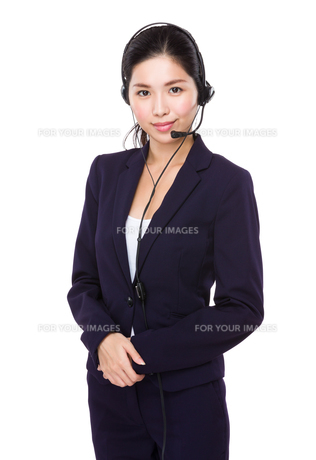 Customer service officerの写真素材 [FYI00786834]