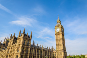 Big Ben and House of Parliament, London, UKの写真素材 [FYI00787156]