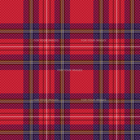 Checkered tartan fabric seamless patternの写真素材 [FYI00787384]
