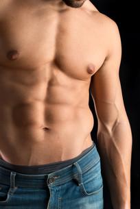 Man's torsoの写真素材 [FYI00787920]