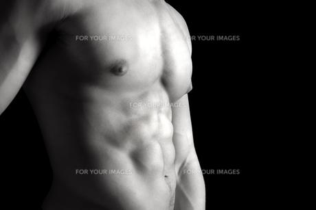 Man's torsoの写真素材 [FYI00787955]