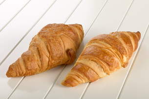 Sweet Croissant with chocolateの写真素材 [FYI00788001]
