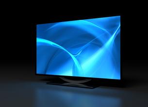 UHD TV on Darkの写真素材 [FYI00788033]