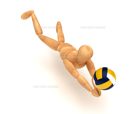 Volleyball Playerの素材 [FYI00788050]