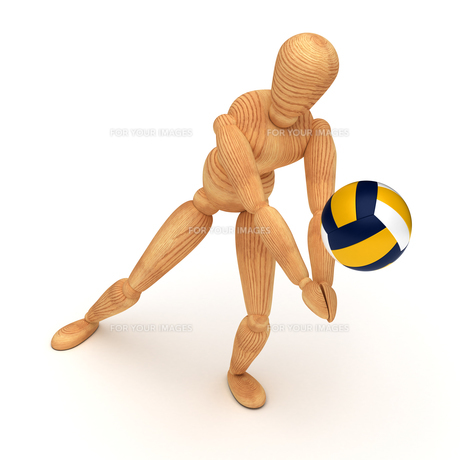 Volleyball Playerの素材 [FYI00788057]