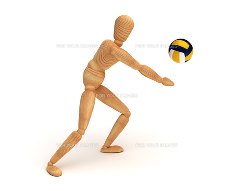 Volleyball Playerの素材 [FYI00788087]