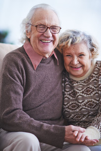 Affectionate coupleの写真素材 [FYI00788301]
