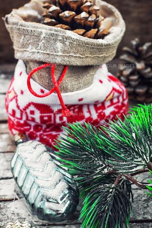 Christmas bagの素材 [FYI00788350]