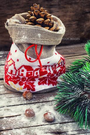 Christmas bagの素材 [FYI00788402]