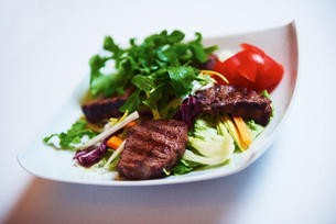 tasty steakの写真素材 [FYI00788597]