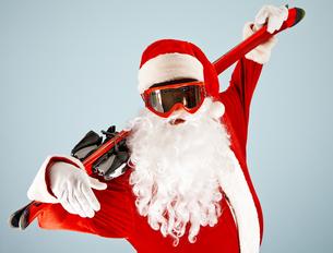 Active Santaの素材 [FYI00788756]