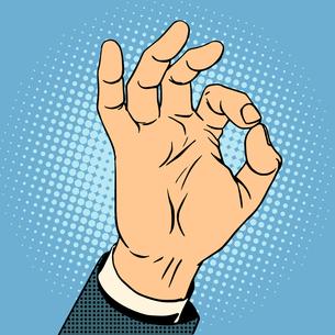 Okay gestureの素材 [FYI00789128]