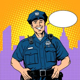 good cop policeの素材 [FYI00789177]