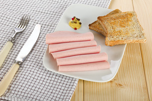 Sliced sausageの素材 [FYI00789936]