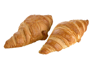 Sweet Croissant with chocolateの写真素材 [FYI00789942]