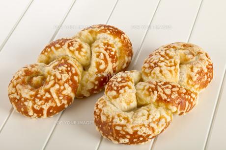 Bun with cheese gratinの写真素材 [FYI00789966]