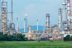 Oil Refinery Factoryの写真素材 [FYI00790063]