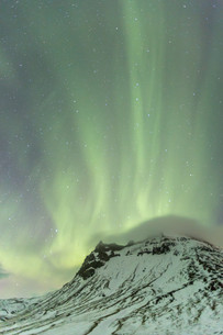 The Northern Light Aurora borealisの写真素材 [FYI00790075]