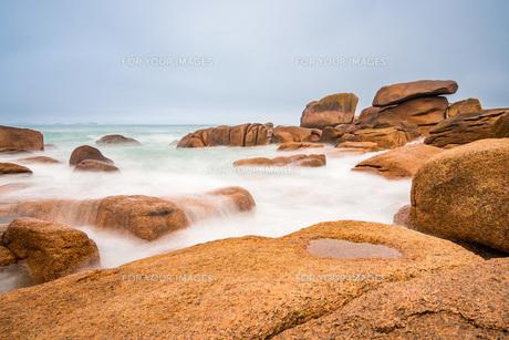 atlantic coast in brittanyの素材 [FYI00790082]