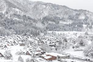 Winter Shirakawagoの写真素材 [FYI00790110]