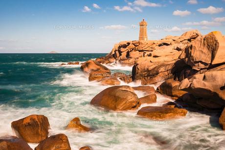 atlantic coast in brittanyの素材 [FYI00790129]