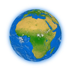 Africa on planet Earthの写真素材 [FYI00790542]