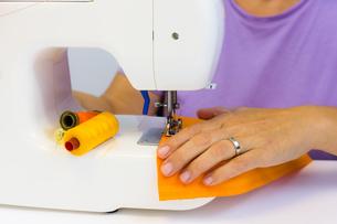 sewing machineの写真素材 [FYI00790930]