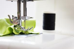 sewing machine whiteの写真素材 [FYI00790941]