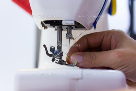 sewing machineの写真素材 [FYI00790942]