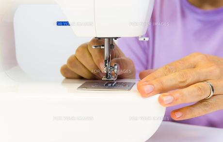 sewing machineの写真素材 [FYI00790951]