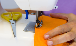 sewing machineの写真素材 [FYI00790983]