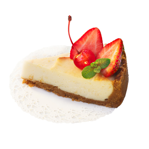 Strawberry dessert isolated on whiteの写真素材 [FYI00791163]