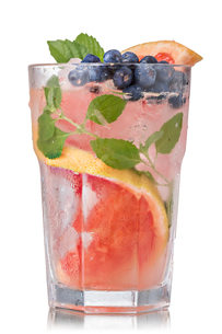 Grapefruit blueberry mojitoの素材 [FYI00791169]