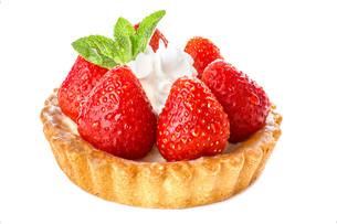 Strawberry dessertの写真素材 [FYI00791186]