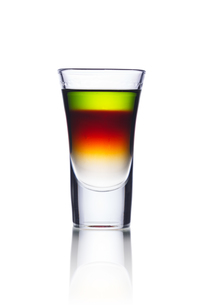 Colorful shot drinkの写真素材 [FYI00791219]
