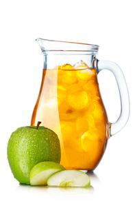 Apple juiceの写真素材 [FYI00791242]