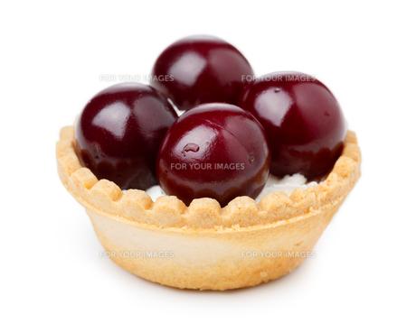 Cherry dessertの写真素材 [FYI00791262]