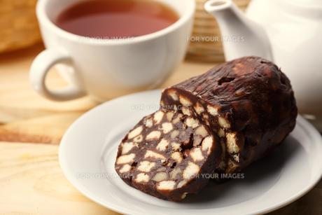 Tea with dessertの写真素材 [FYI00791264]