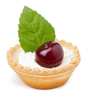 Cherry dessertの写真素材 [FYI00791298]