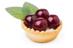 Cherry dessertの写真素材 [FYI00791313]