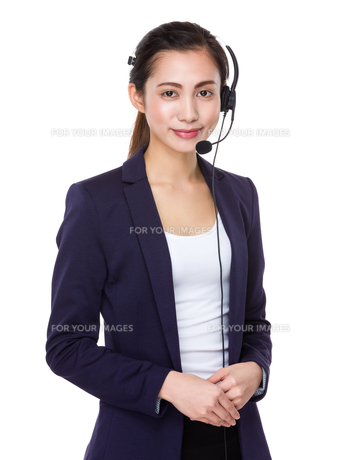 Customer services operatorの写真素材 [FYI00791562]