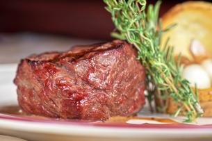 beef steakの写真素材 [FYI00791609]