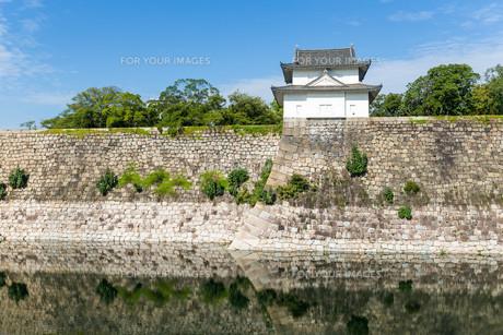 Osaka castleの素材 [FYI00791716]