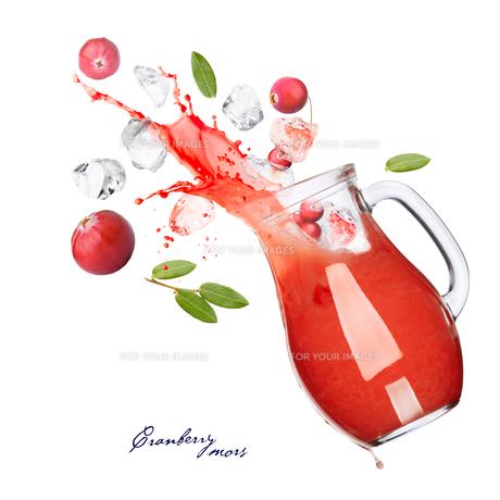 Cranberry drinkの写真素材 [FYI00792046]
