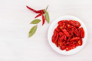 Dried tomatoesの素材 [FYI00792063]