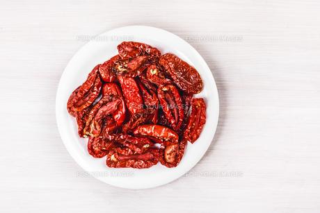 Dried tomatoesの素材 [FYI00792065]